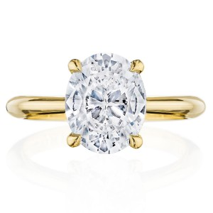 Tacori HT2671OV10X8Y 18 Karat RoyalT Engagement Ring