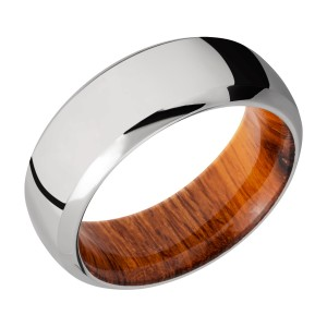 Lashbrook HWSLEEVE8DB Titanium Wedding Ring or Band