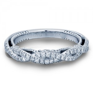 Verragio Insignia-7060W Platinum Wedding Ring / Band