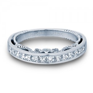 Verragio Insignia-7064PW 14 Karat Wedding Ring / Band