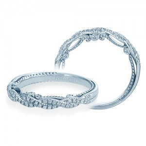 Verragio Insignia-7074W Platinum Wedding Ring / Band