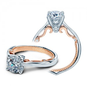 Verragio Platinum Insignia-7075-TT Engagement Ring