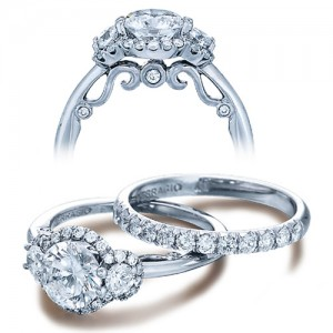 Verragio Platinum Insignia Engagement Ring INS-7049