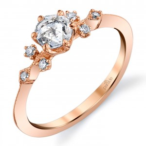 Parade Lumiere Bridal 18 Karat Diamond Engagement Ring LMBR3975