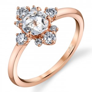 Parade Lumiere Bridal 18 Karat Diamond Engagement Ring LMBR3988