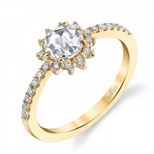 Parade Lumiere Bridal 18 Karat Diamond Engagement Ring LMBR3989/R