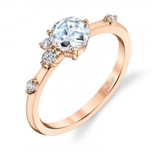 Parade Lumiere Bridal 18 Karat Diamond Engagement Ring LMBR3990