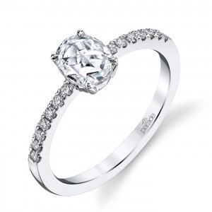 Parade Lumiere Bridal 18 Karat Diamond Engagement Ring LMBR3998/O