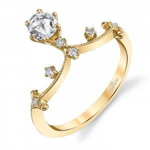Parade Lumiere Bridal 18 Karat Diamond Engagement Ring LMBR4131