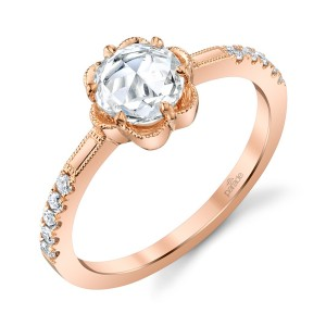 Parade Lumiere Bridal LMBR4317 Platinum Diamond Engagement Ring