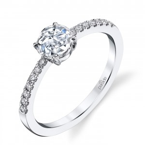 Parade Lumiere Bridal Platinum Diamond Engagement Ring LMBR3998/R