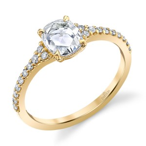Parade Lumiere Bridal Platinum Diamond Engagement Ring LMBR4187