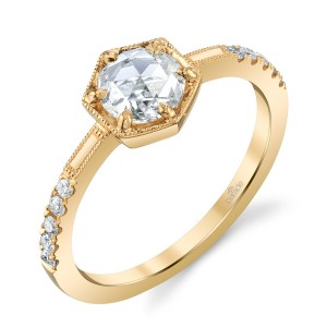 Parade Lumiere Bridal Platinum Diamond Engagement Ring LMBR4316