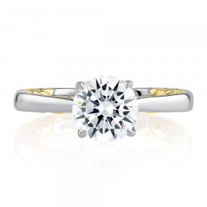 A.JAFFE Platinuim Classic Engagement Ring MECRD2336Q