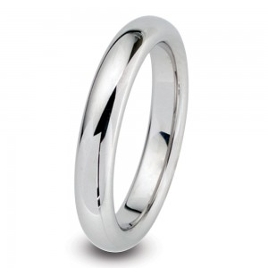 Kretchmer Platinum Omega Band - Wedding Ring