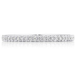 Tacori 14 Karat Coastal Crescent Wedding Band P104B34FW