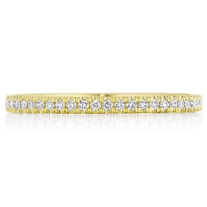 Tacori 14 Karat Coastal Crescent Wedding Band P104B34FY