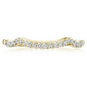 Tacori 14 Karat Coastal Crescent Wedding Band P105BFY