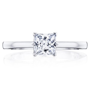 Tacori P100PR5FW 14 Karat Coastal Crescent Engagement Ring