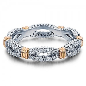 Verragio Parisian-W104 Platinum Diamond Eternity Ring / Band