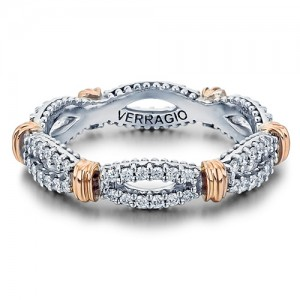 Verragio Parisian-W105 Platinum Diamond Eternity Ring / Band