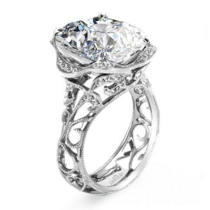 Parade Hera Bridal R2784 Platinum Diamond Engagement Ring