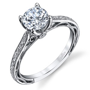 Parade Hera Bridal R2928C 14 Karat Diamond Engagement Ring
