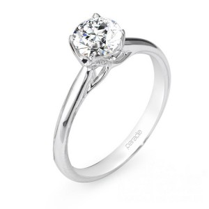 Parade New Classic R2638 Platinum Diamond Engagement Ring