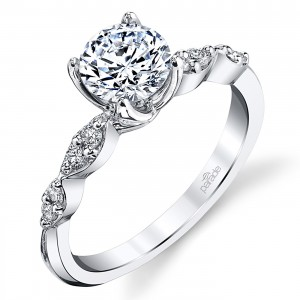 Parade Hemera Bridal Platinum Diamond Engagement Ring R3946
