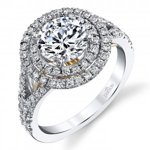 Parade Hemera Bridal Platinum Diamond Engagement Ring R3959