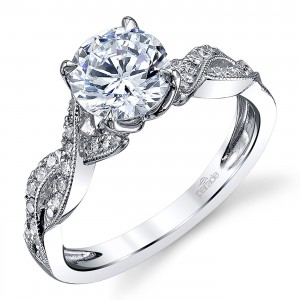 Parade Hemera Bridal Platinum Diamond Engagement Ring R3967