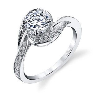 Parade Hemera Bridal R3150 14 Karat Diamond Engagement Ring