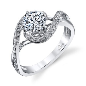 Parade Hemera Bridal R3152 14 Karat Diamond Engagement Ring