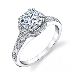 Parade Hemera Bridal R3237 14 Karat Diamond Engagement Ring