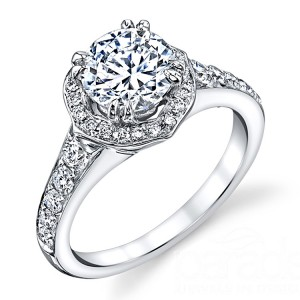 Parade Hemera Bridal R3238 18 Karat Diamond Engagement Ring