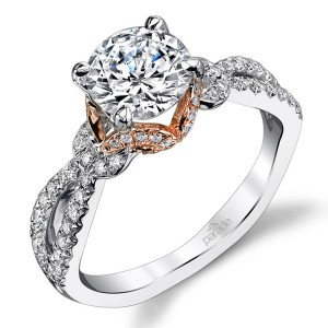 Parade Hemera Bridal R3456 14 Karat Diamond Engagement Ring