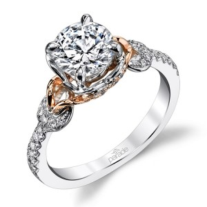 Parade Hemera Bridal R3457 14 Karat Diamond Engagement Ring