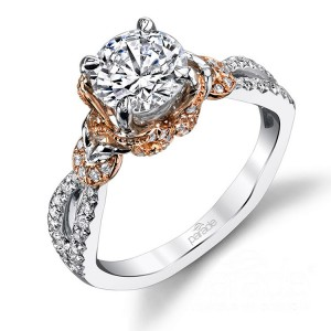 Parade Hemera Bridal R3458 14 Karat Diamond Engagement Ring