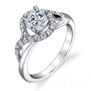 Parade Hemera Bridal R3536 Platinum Diamond Engagement Ring