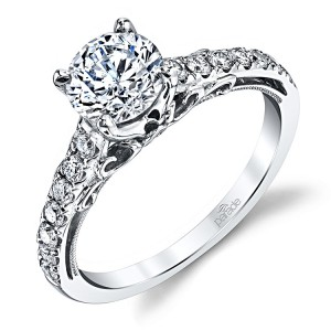 Parade Hemera Bridal R3630 Platinum Diamond Engagement Ring
