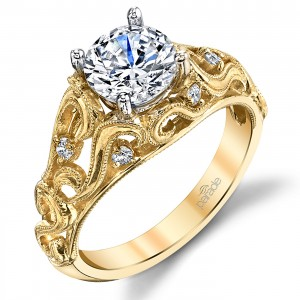 Parade Hera Bridal 14 Karat Diamond Engagement Ring R3555B