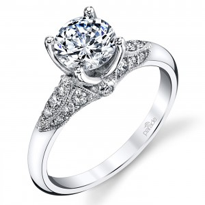 Parade Hera Bridal Platinum Diamond Engagement Ring R3942
