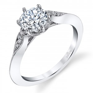 Parade Hera Bridal Platinum Diamond Engagement Ring R3976