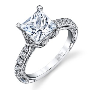Parade Hera Bridal R3049/S2 Platinum Diamond Engagement Ring