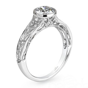 Parade Hera Bridal R3050 14 Karat Diamond Engagement Ring