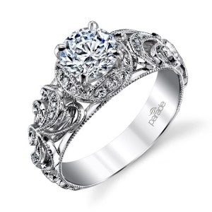 Parade Hera Bridal R3071 Platinum Diamond Engagement Ring