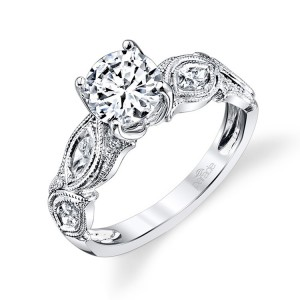Parade Hera Bridal R3102 14 Karat Diamond Engagement Ring