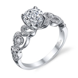 Parade Hera Bridal R3124 Platinum Diamond Engagement Ring