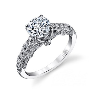 Parade Hera Bridal R3142 14 Karat Diamond Engagement Ring