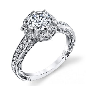 Parade Hera Bridal R3192 14 Karat Diamond Engagement Ring